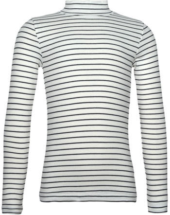 name it T-Shirt long sleeve NKFNAFINA stripe snow white 13180381