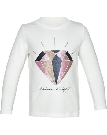 name it T-Shirt long sleeve NMFVEEN snow white 13183721