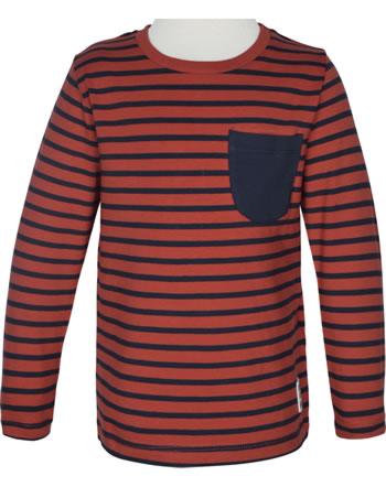 name it T-Shirt Langarm NMMBOMAL ketchup 13186402