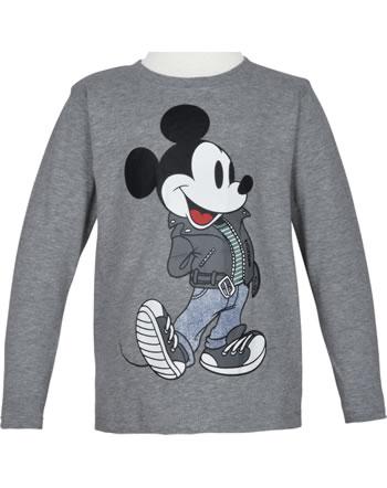 name it T-Shirt long sleeve NMMMICKEY MILAS grey melange 13185791