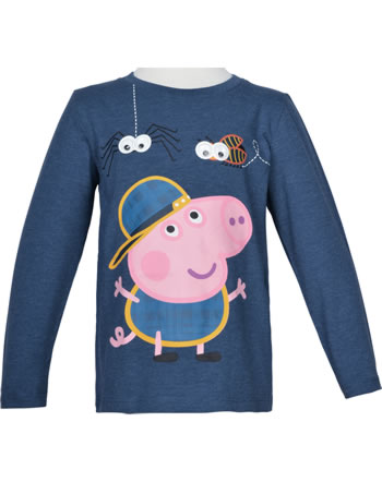 name it T-Shirt Langarm NMMPEPPAPIG MIMER gibraltar sea 13181714