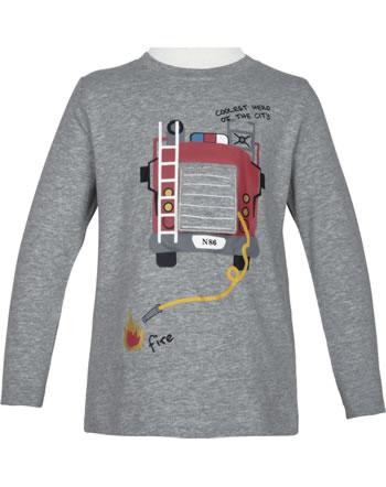 name it T-Shirt long sleeve NMMRAXI grey melange 13184063