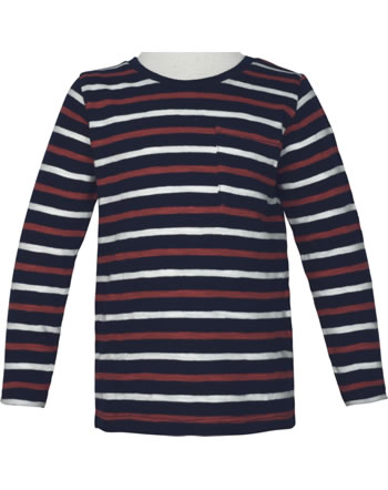 name it T-Shirt long sleeve NMMROKKE dark sapphire 13184044