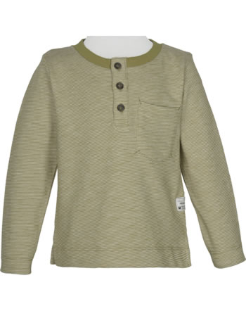 name it T-Shirt Langarm NMMVILMAR stone gray 13192369