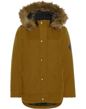 name it Winter-Jacke m. Fell-Kapuze NKMMALIEN bronze brown 13167686