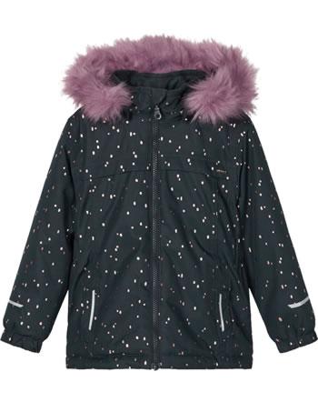 name it Winter-Jacke m. Fell-Kapuze NMFSNOW 08 dark sapphire 13177581
