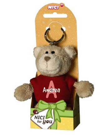 Nici Schlüsselanhänger Plüsch Bär mit Mädchennamen