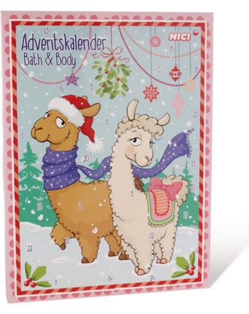 Nici Adventskalender Bath & Body La-La-Lama-Lounge