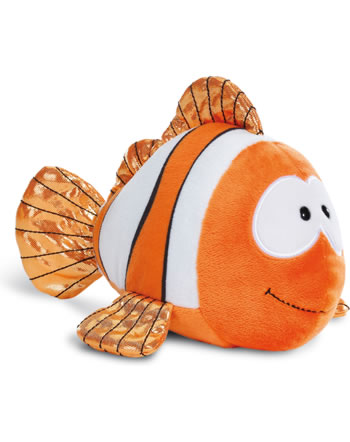 Nici Poisson-clown Claus-Fisch Under the Sea 23 cm couché 45357