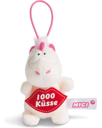 Nici Einhorn Theodor 1000 Küsse 8 cm mit Loop Message to go