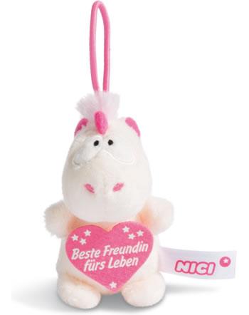 Nici Einhorn Theodor Beste Freundin fürs Leben 8 cm mit Loop Message to go