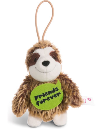 Nici Faultier Friends forever 8 cm mit Loop Message to go