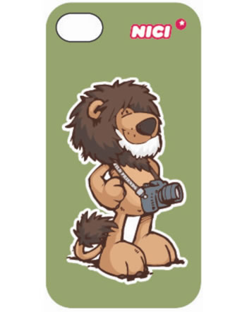 Nici iPhone-Cover für 4/4S Löwe