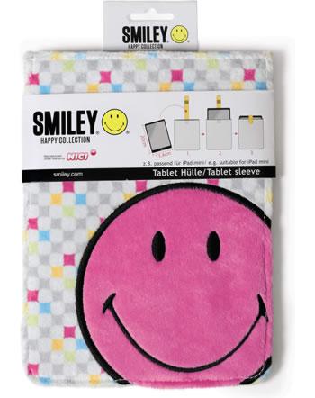 Nici Hülle für iPad mini Smiley pink
