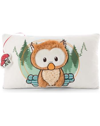Nici Cushion Baby owl Owlino rectangular 47094