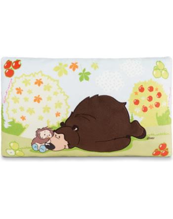 Nici Kissen Forest Friends Grizzlybär und Igel