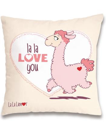 Nici Kissen Lama la la love you