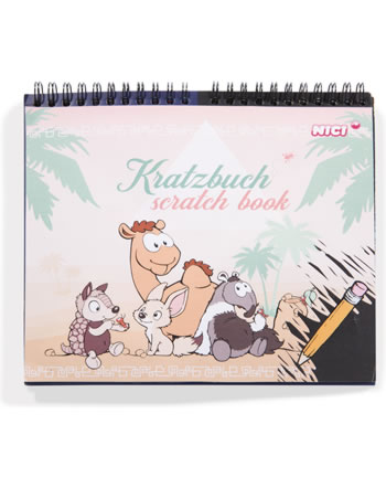 Nici Kratzbuch / Scratch Book Wild Friends 45278