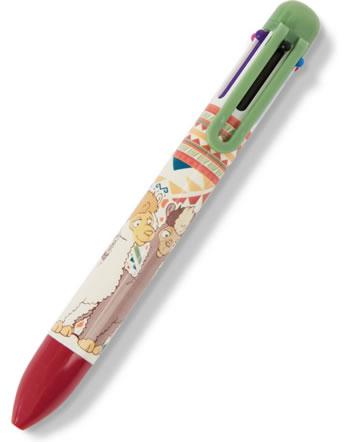 Nici Kugelschreiber mehrfarbig Alpaka Sue und Joe 46808