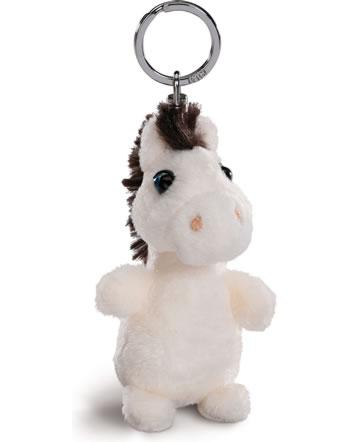 Nici LED-Schlüssellicht Plüsch Pferd weiß