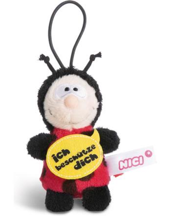 Nici ladybird Ich beschütze dich 8 cm with loop Message to go
