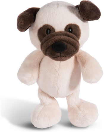 Nici Mops 20 cm Schlenker Dog Friends 45100
