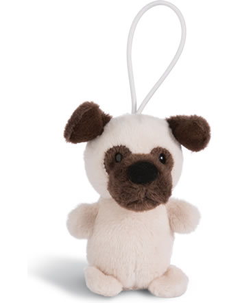 Nici Pug Dog with Loop 8 cm standing Dog Friends 45095