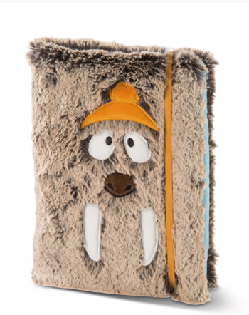 Nici Note Book A5 with removable plush cover Winter Adventure 45759
