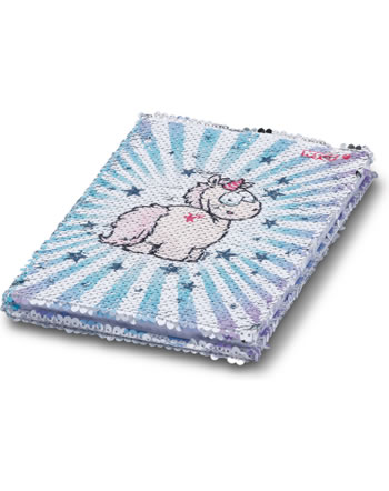 Nici Cahier de notes DIN A5 avec paillettes Theodor and Friends 45060