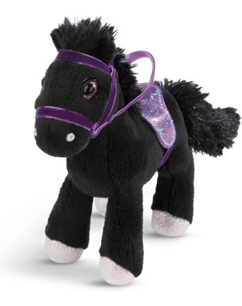 Nici Pferd Black Cassis 16 cm stehend Soulmates Mystery Hearts