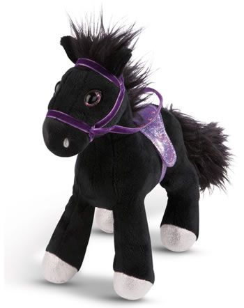 Nici Pferd Black Cassis 25 cm stehend Soulmates Mystery Hearts
