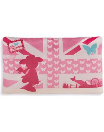 Nici Plüsch Kissen rechteckig Schaf Jolly Journey in London rosa