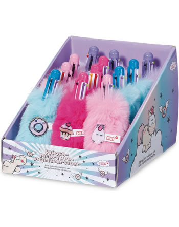Nici Stylo avec peluche multicolore Theodor and Friends 45052