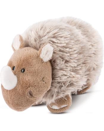 Nici plush woolen rhinoceros Ellinor 17 cm standing STONE AGE FRIENDS 46648