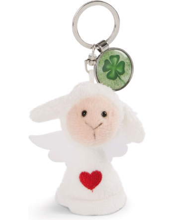 Nici Key Ring Messengers angel with heart and cloverleaf 47521