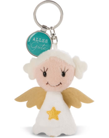 Nici Key Ring Messengers angel with star Alles Gute 47527