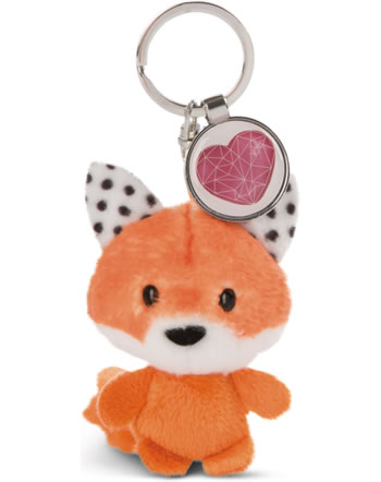 Nici Key Ring Messengers fox with heart 47533