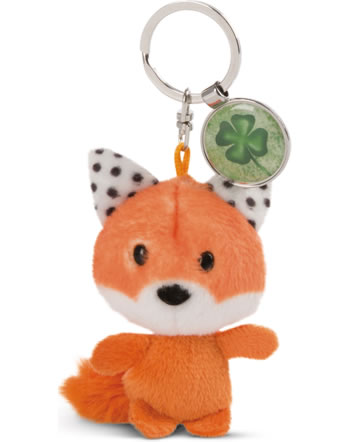 Nici Key Ring Messengers fox with cloverleaf 47534