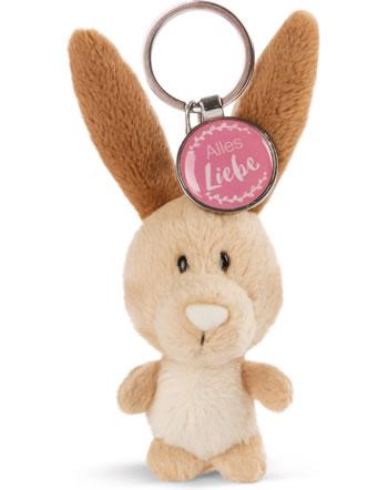 Nici Key Ring Messengers rabbit Alles Liebe 47539