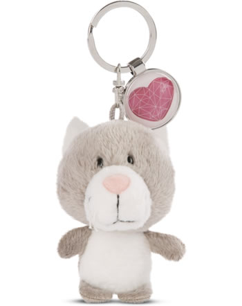 Nici Key Ring Messengers cat with heart 47531