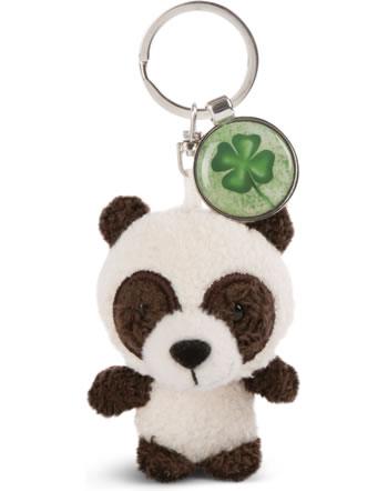 Nici Key Ring Messengers panda with cloverleaf 47537
