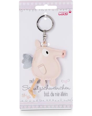 Nici Schlüsselanhänger Schutzschweinchen Kunstleder 46050