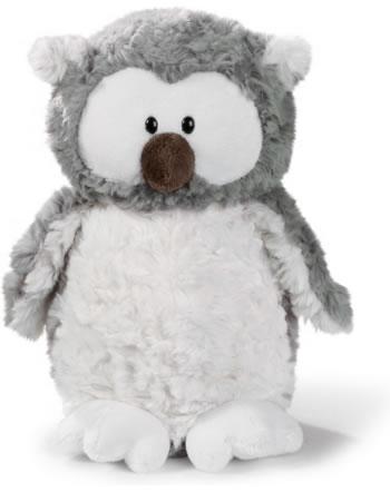 Nici Snowy owl  20 cm standing plush