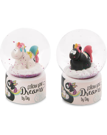 Nici Snow Globe unicorn Rainbow 47399