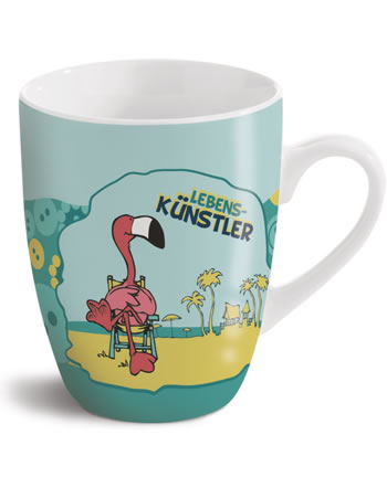 Nici Tasse Flamingo Lebenskünstler