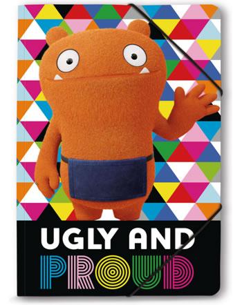 Nici Ugly Dolls Gummizugmappe/Sammelmappe DIN A4