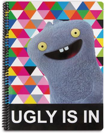 Nici Ugly Dolls Schreibblock kariert DIN A4