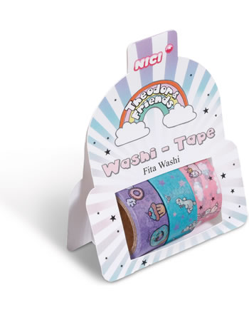 Nici Washi Tape Theodor and Friends 45065