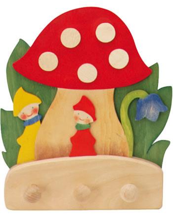Ostheimer Garderobe Pilz mit Zwergen