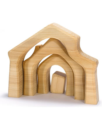 Ostheimer Maisonm bois massif 4 pièces